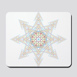 Triangle Mandala Mousepad