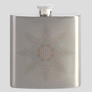 Triangle Mandala Flask