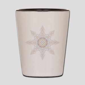 Triangle Mandala Shot Glass