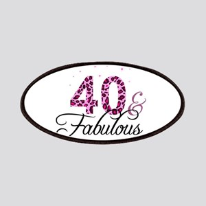 40 and Fabulous Patch
