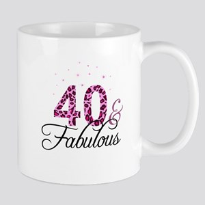 40 and Fabulous Mugs
