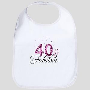 40 and Fabulous Bib