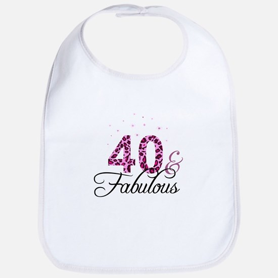 40 and Fabulous Bib