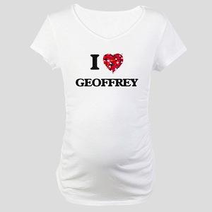 I Love Geoffrey Maternity T-Shirt