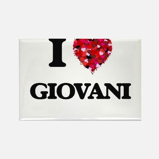 I Love Giovani Magnets