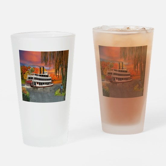 Belle of the Bayou Drinking Glass