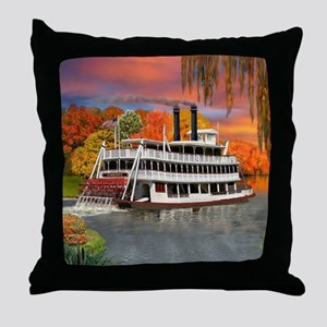 Belle of the Bayou Throw Pillow