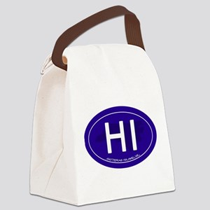 Hatteras Island NC Canvas Lunch Bag