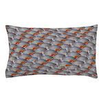 School of Piranhas 2 fish Pillow Case