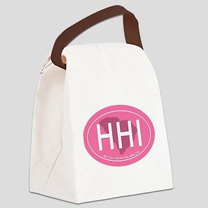 Hilton Head Island SC Canvas Lunch Bag