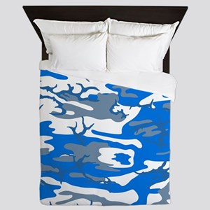 Ice Water Blue Queen Duvet