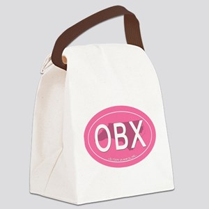 Outer Banks NC Canvas Lunch Bag