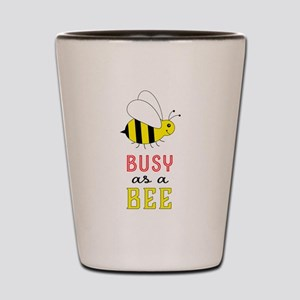 Busy as a Bee Shot Glass