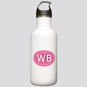 Wrightsville Beach NC Stainless Water Bottle 1.0L