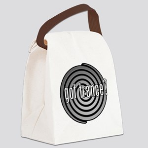got trance? (spiral) Canvas Lunch Bag