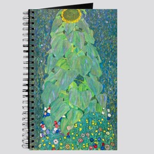 Sunflower by Gustav Klimt Journal
