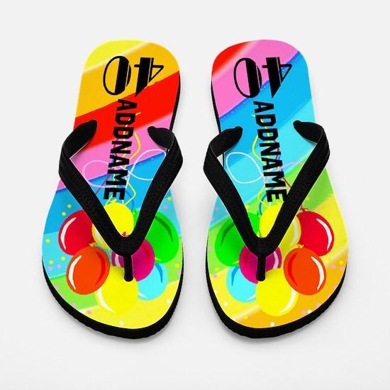Celebrating 40 Flip Flops