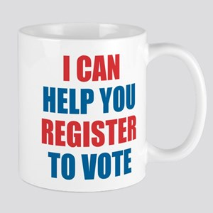 I CAN HELP YOU REGISTER TO VOTE VOLUNTEER VOTER Mu