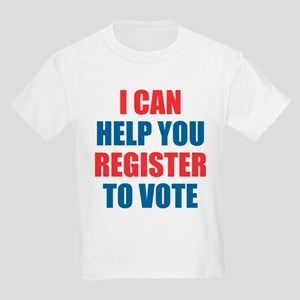 I CAN HELP YOU REGISTER TO VOTE VOLUNTEER VOTER T-
