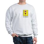 Hill Stompers Men's Sweatshirt, Front/back
