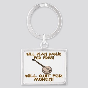 WILL PLAY BANJO FOR FREE. Landscape Keychain
