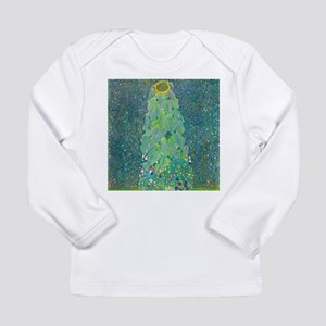 Sunflower by Gustav Klimt Long Sleeve T-Shirt