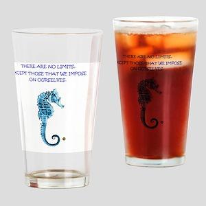 No limits Drinking Glass