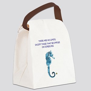 No limits Canvas Lunch Bag