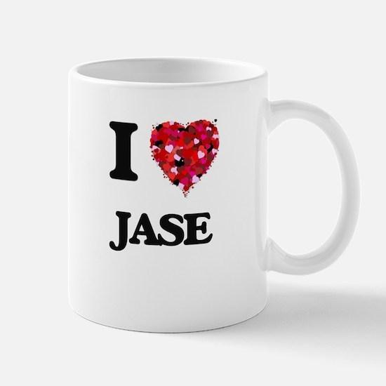 I Love Jase Mugs