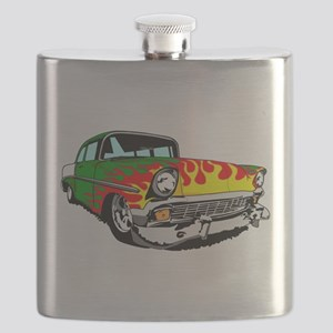 This 56 Bel air is on fire! Flask