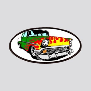 This 56 Bel air is on fire! Patch