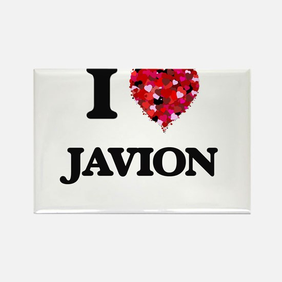 I Love Javion Magnets