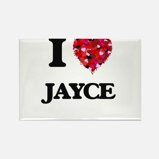 I Love Jayce Magnets