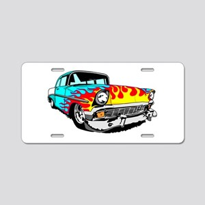 Im Mad for this Light Blue Aluminum License Plate
