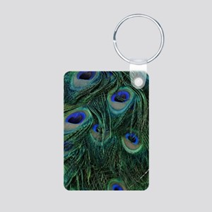 Peacock Feathers Keychains