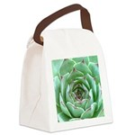 Succulent Canvas Lunch Bag