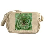 Succulent Messenger Bag