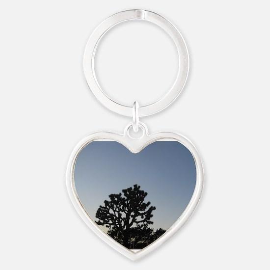 Joshua Tree at Sunset Keychains