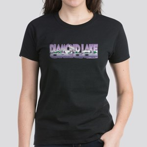 NEW! Diamond Lake Women's Dark T-Shirt