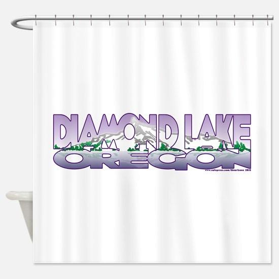 NEW! Diamond Lake Shower Curtain