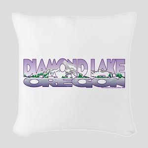 NEW! Diamond Lake Woven Throw Pillow
