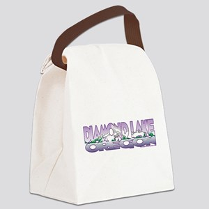 NEW! Diamond Lake Canvas Lunch Bag