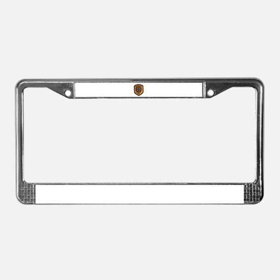 San Bernardino County Fire License Plate Frame