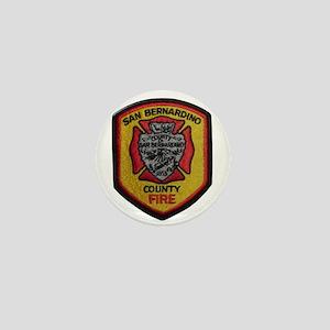 San Bernardino County Fire Mini Button
