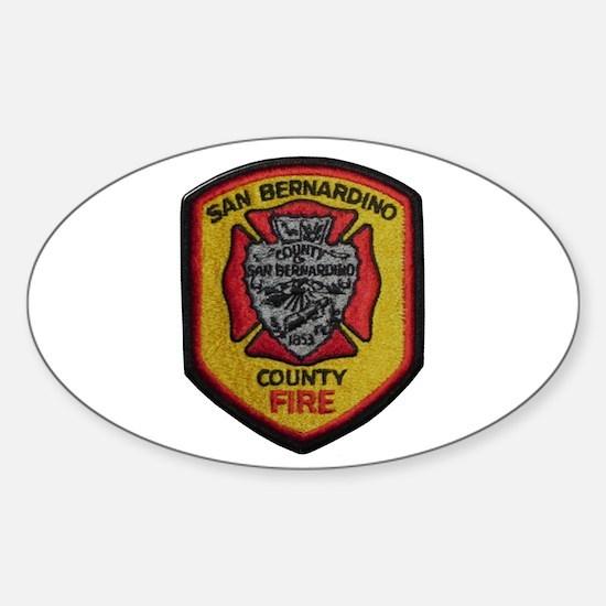 San Bernardino County Fire Decal