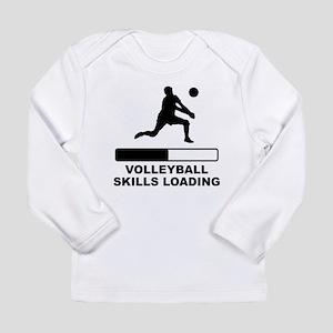 Volleyball Skills Loading Long Sleeve T-Shirt