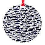 School of Bluefin Tuna Ornament