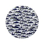 School of Bluefin Tuna Button