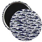 School of Bluefin Tuna Magnets