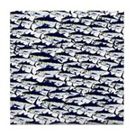 School of Bluefin Tuna Tile Coaster